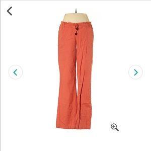 Orange Hippie Style Pants☀️